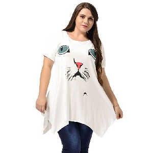 Vestido Camiseta de Gato